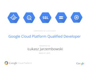Google Cloud Platform Qualified Developer